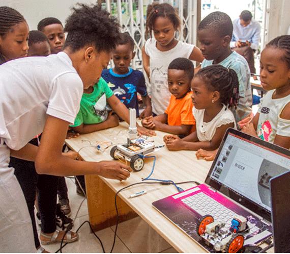 Teaching Robotics for kids