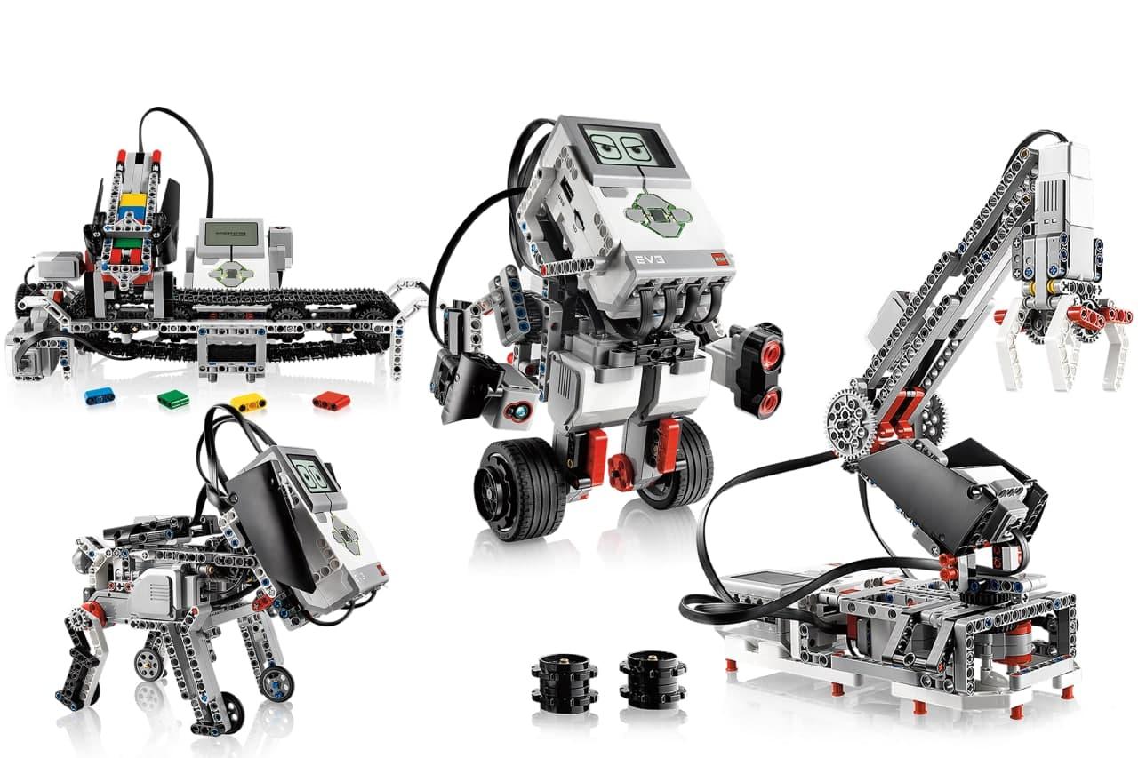 LEARN ROBOTICS WITH LEGO MINDSTORM EV3