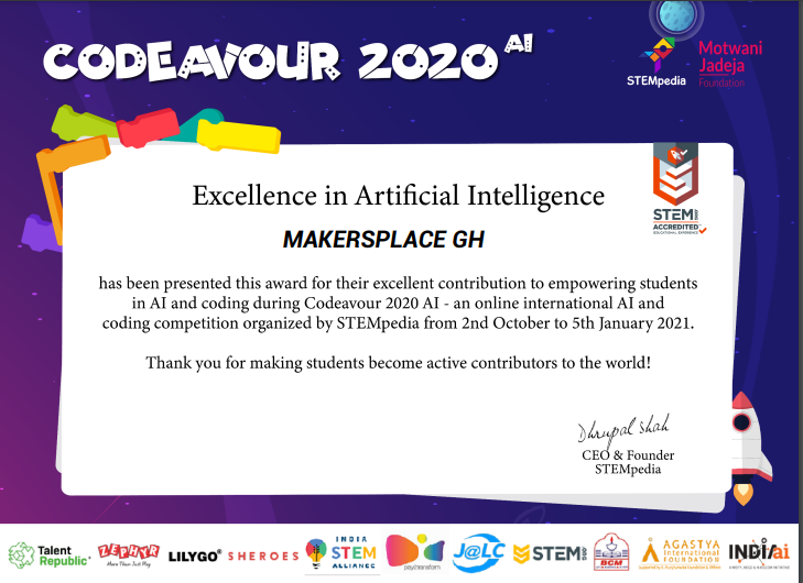 makersplace award in artificial intelligence